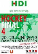 Final Four Feld 2019 am WAC-Platz - DAMEN holen den MEISTERTITEL